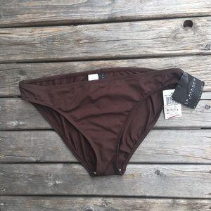 La Blanca Chocolate Brown Bikini Bottoms